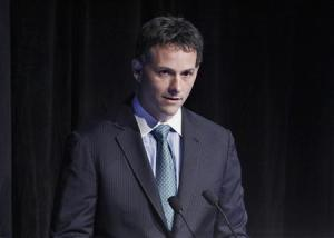 Einhorn, president of Greenlight Capital, speaks during the Sohn Investment Conference in New York
